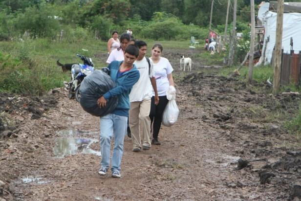 Sostienen asistencia y ayuda solidaria para afectados por lluvias