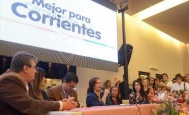 Michetti regresa a Corrientes para profundizar la campaña en el interior