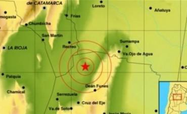 Un sismo de casi 6 grados en la escala de Richter sacudió el noreste de Córdoba