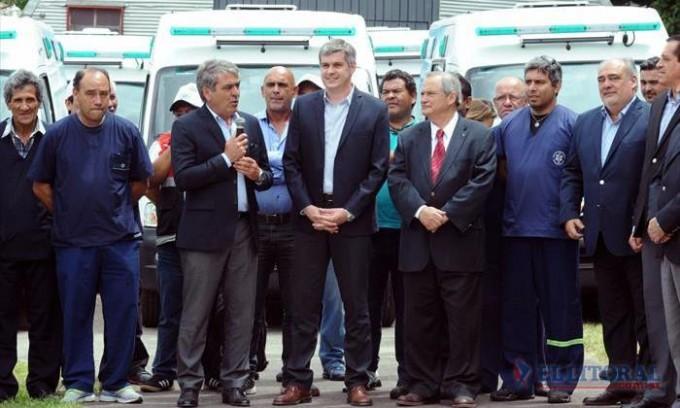 Colombi acordó con la Nación obras por más de 220 millones de pesos