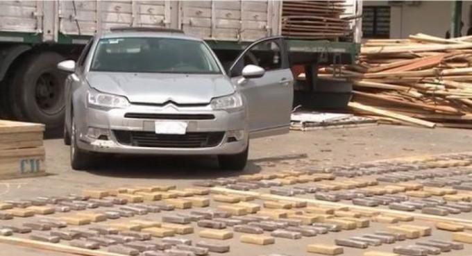 Secuestraron en Zárate 1.200 kilos de droga que salieron de Santo Tomé