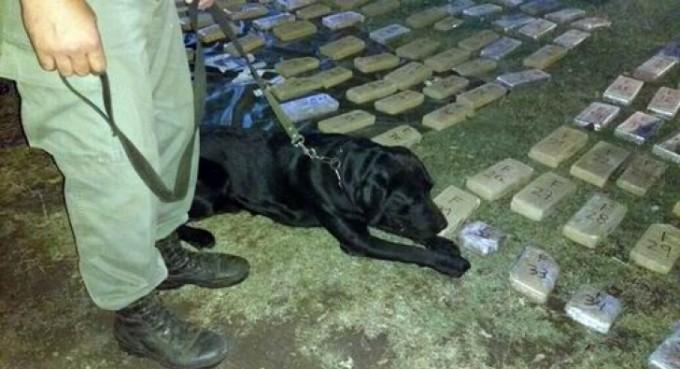 Detienen a choferes de micro que partió de Corrientes con 238 kilos de droga