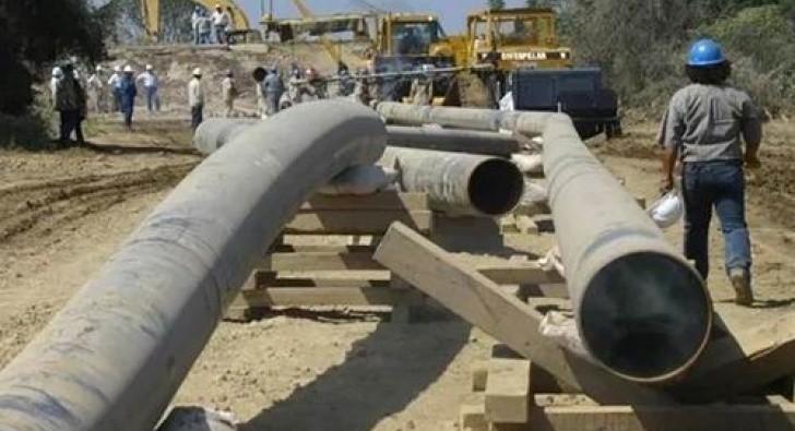 Inauguran gasoducto y red al parque industrial