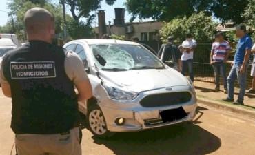 Correntino, preso por matar con su auto a dos personas