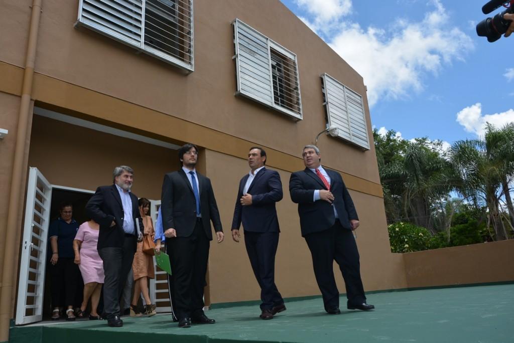 Diálogo institucional de Valdés con intendentes justicialistas
