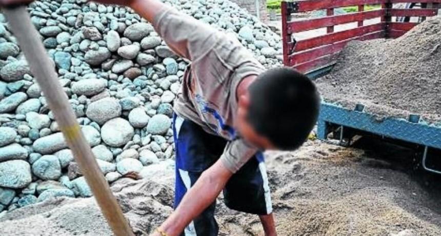 Trabajo infantil afecta a uno de cada diez niños, según informe del Indec