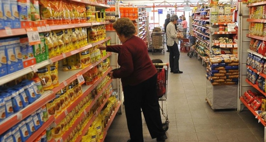 Fuerte caída del consumo por inflación y tarifazos
