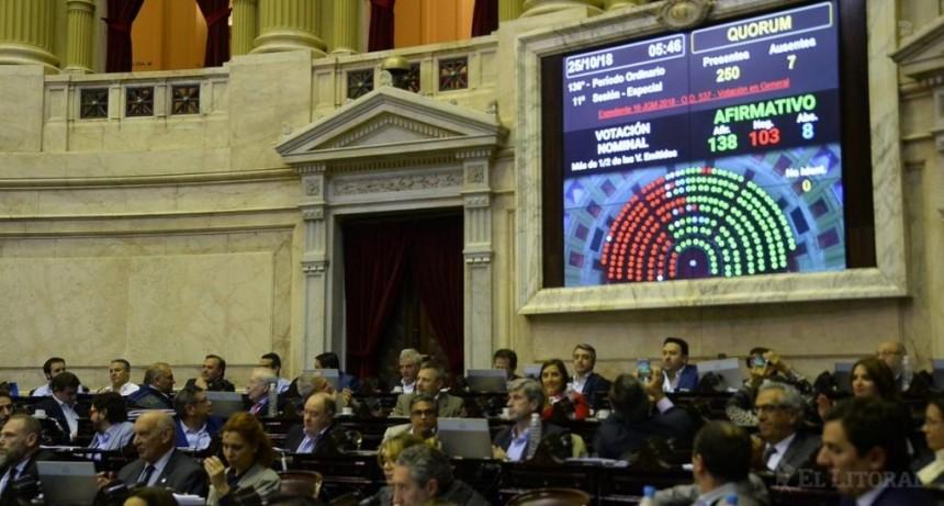 El oficialismo intentará convertir en ley el Presupuesto 2019 el miércoles