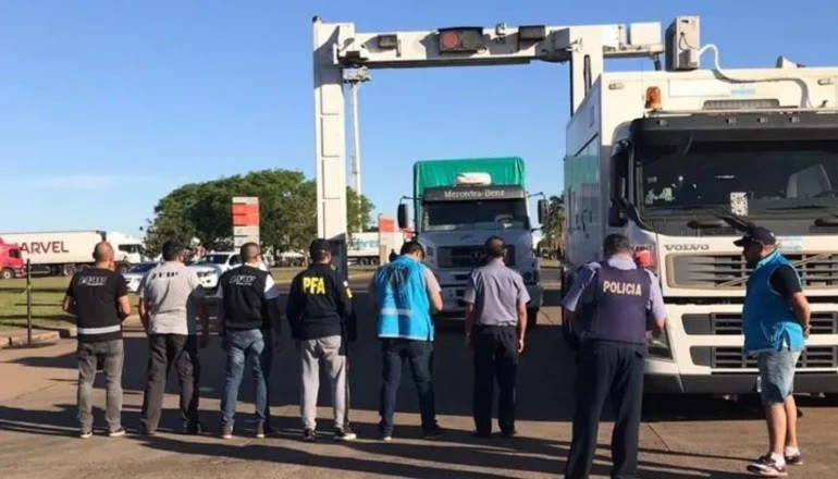 La droga incautada en Santo Tomé superó las 5 toneladas