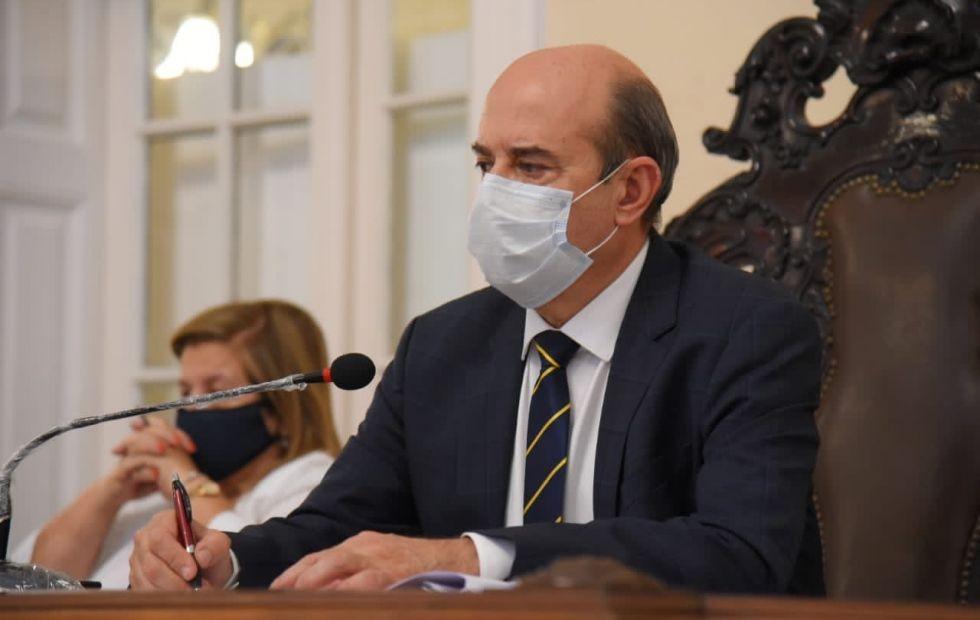 """Gustavo Canteros dijo que """"es absolutamente legítima la intención de Valdés de ir por la reelección"""""""