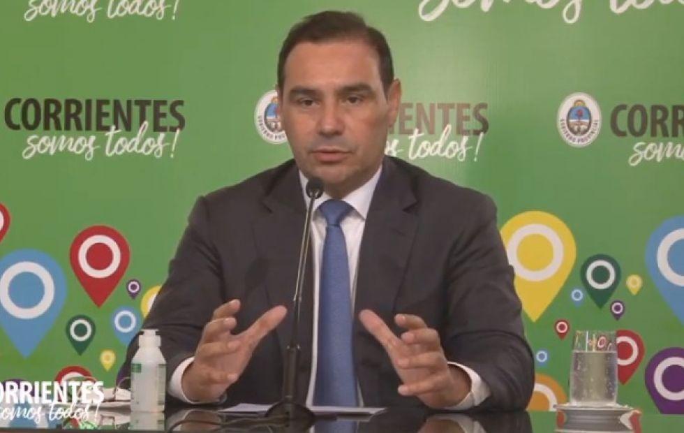 Gustavo Valdés dijo que