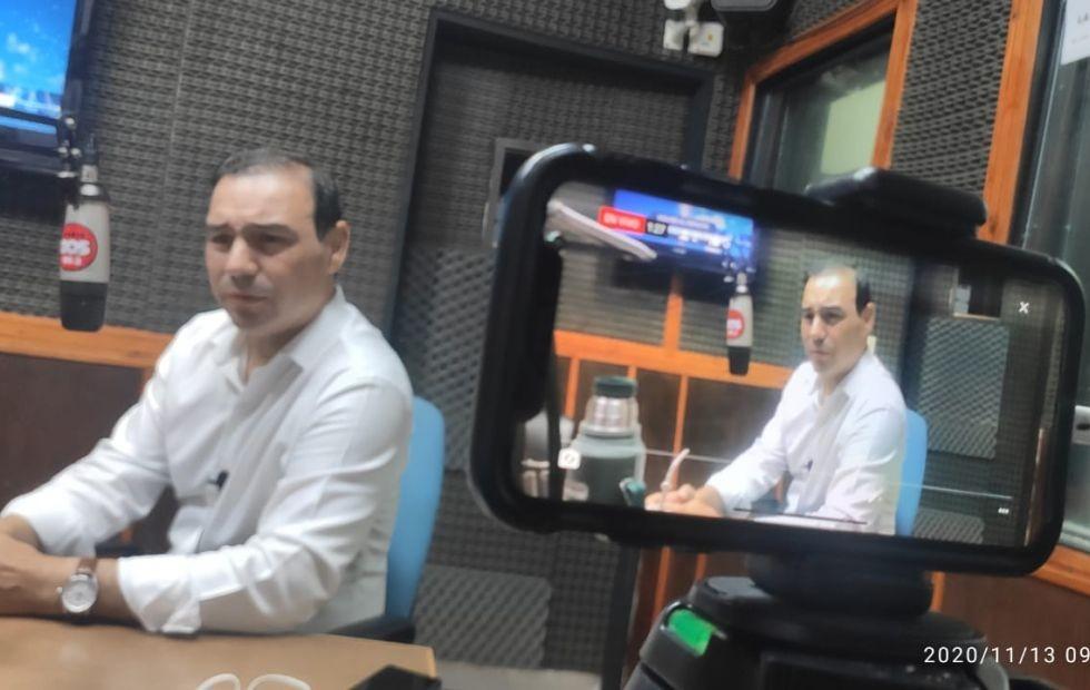 """Gustavo Valdés, en La Dos: """"Aunque sean duras, tomaremos las medidas necesarias para proteger a los correntinos"""