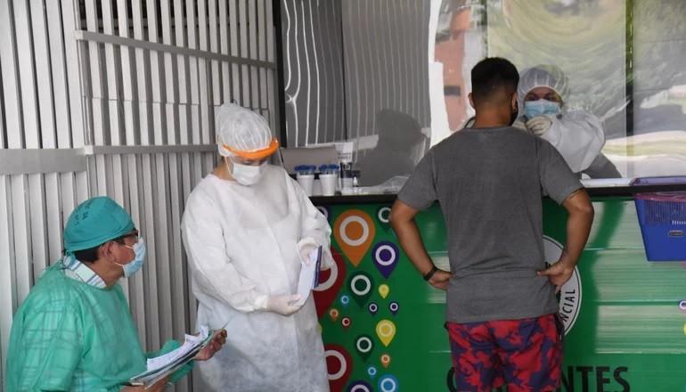 Covid-19: Salud Pública busca llegar a una meseta de menos de 200 casos diarios