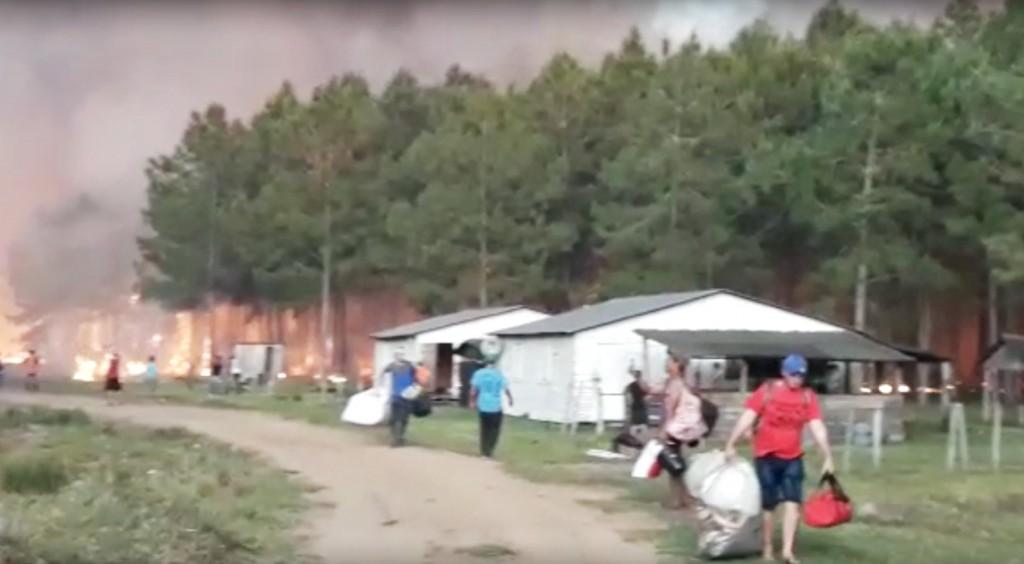 Se queman 30 mil hectáreas en Virasoro y el panorama es desolador