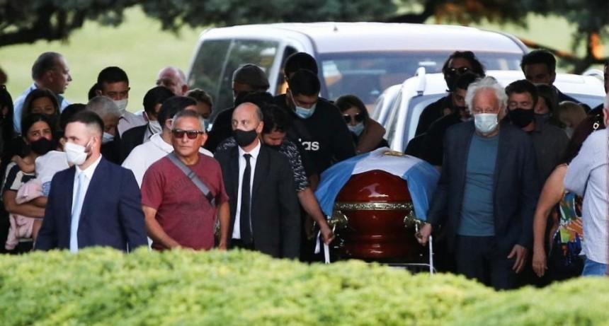 El último adiós a Maradona