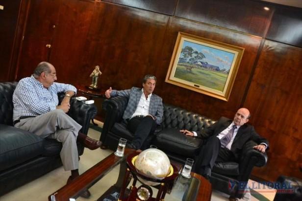 """Pepe Scioli: """"El Gobernador apuntó al consenso y no a la confrontación"""""""