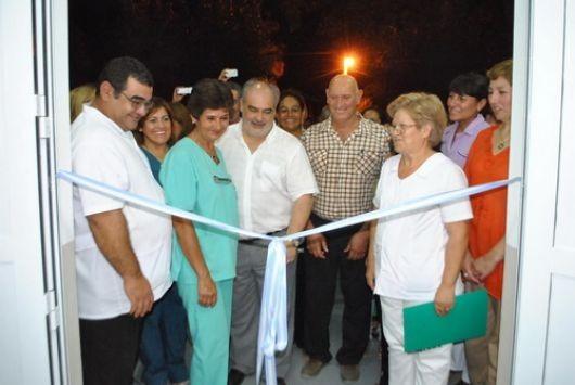 Inauguraron la estación sanitaria y pavimento