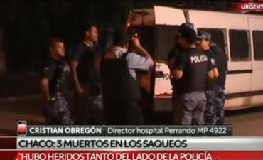 Por violentos enfrentamientos en Resistencia hay 4 muertos, entre ellos un subcomisario