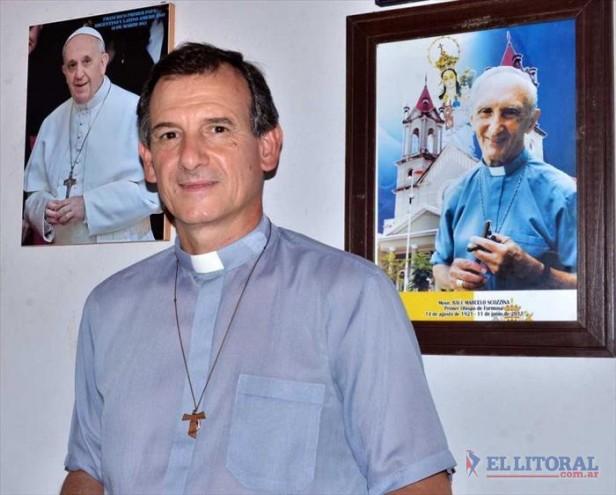 El papa Francisco nombró a Adolfo Canecín como Obispo Auxiliar de la diócesis de Goya