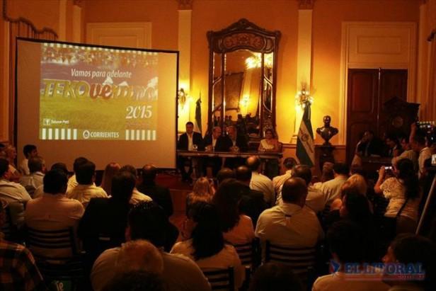 Se lanzó el Tekoverano 2015 que llegará a unas 36 localidades correntinas