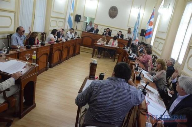 El Concejo aprobó el Presupuesto pero la oposición no avaló un crédito millonario