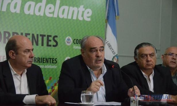 Colombi se puso como meta finalizar su mandato en 2017 sin deuda con la Nación