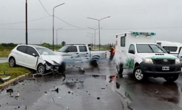 Familiar de integrantes de Los Alonsitos chocó en la ruta 119