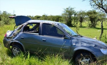 Un motociclista murió al chocar con un camión en Juan Pujol