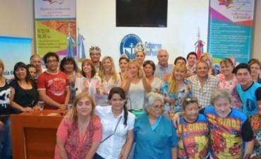 Presentaron los Carnavales Barriales 2015 y se entregaron subsidios a las comparsas