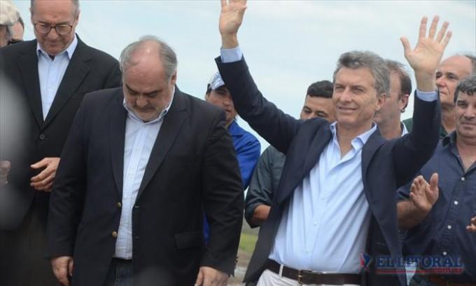 """Colombi sobre la visita de Macri: """"Ahora también vamos a hacer un mejor país"""""""