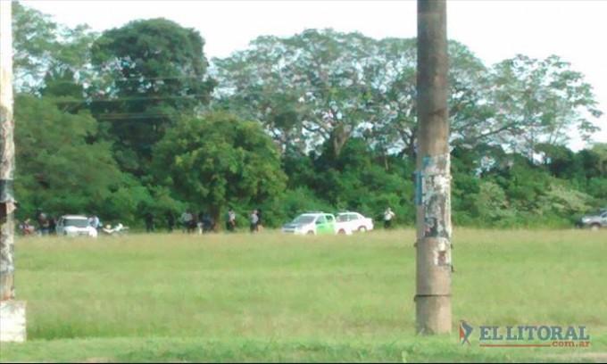 Encontraron un cuerpo sin vida en Ruta 12 y avenida Centenario