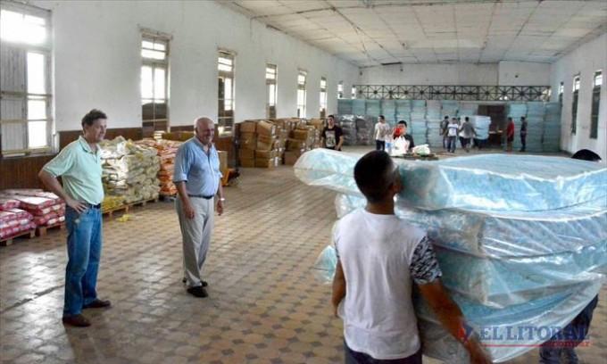 Llegó asistencia de la Nación y hoy se iniciará la distribución a las localidades damnificadas