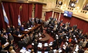 Hoy juran Camau Espínola, Ana Almirón y Pedro Braillard Poccard en el Senado de la Nación