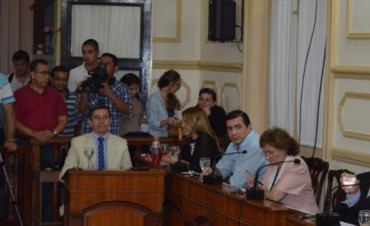 Sin chicanas, el Concejo avaló Presupuesto y Tarifaria 2016