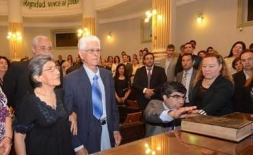 Juraron los nuevos concejales y José Salinas fue electo presidente del cuerpo
