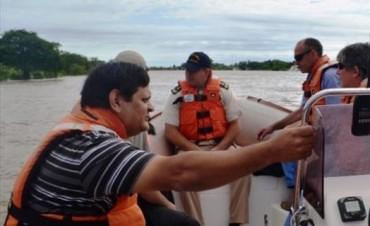 Goya evacuó otros 18 hogares mientras el río dio un leve respiro a Itatí y Paso de la Patria