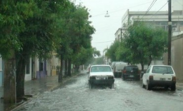 Preocupante situación en Goya por las intensas lluvias que agravan el cuadro de las inundaciones