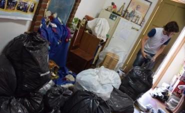 Continúa la entrega de donaciones pero precisan alimentos y artículos de limpieza