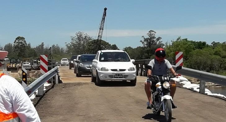 Ya se pasa por el Guazú y repararán otro puente