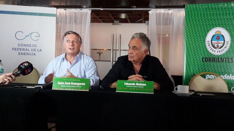 Energía en agenda del primer viaje a Buenos Aires de Valdés Gobernador