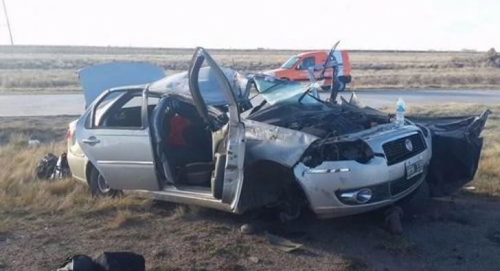 Niño salió despedido de un auto tras un vuelco y falleció en el hospital