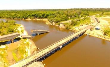 Quedó habilitado el puente bailey sobre el arroyo guazú