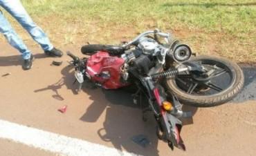 Cerca de Tabay, murió joven motociclista tras un choque.