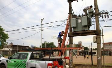Miles de usuarios en seis barrios de la Capital sufrieron extensos cortes de luz