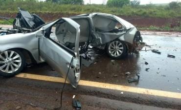 Brutal choque en Virasoro dejó al menos dos muertos