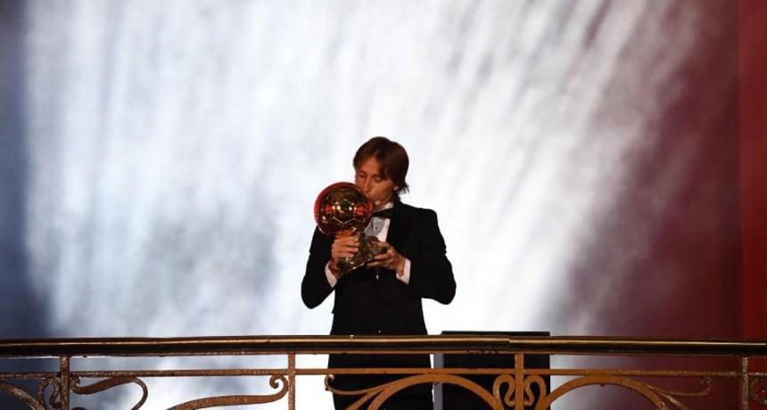 Modric ganó el Balón de Oro 2018 y rompió con diez años de hegemonía Messi-Ronaldo