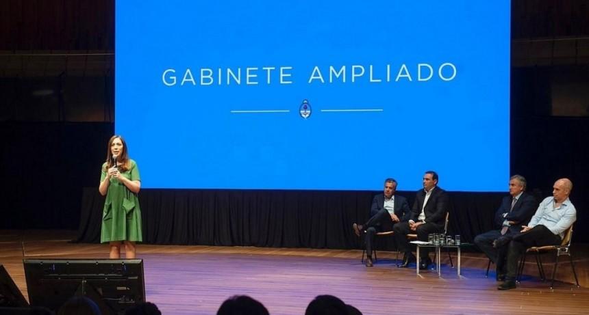 Valdés participó de la reunión de gabinete en la que Macri ratificó el rumbo nacional
