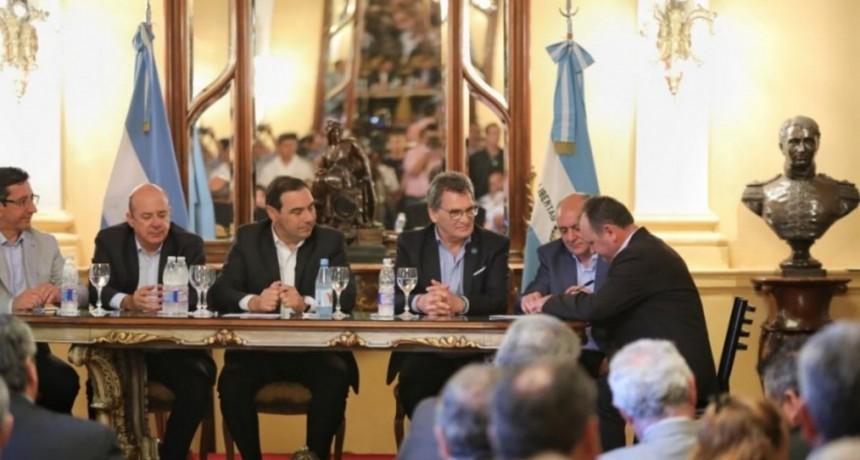Valdés se reunió con Avruj y presentó plan provincial de Derechos Humanos