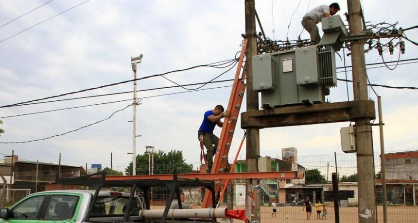 Más de 10 barrios afectados por el corte de luz de ayer