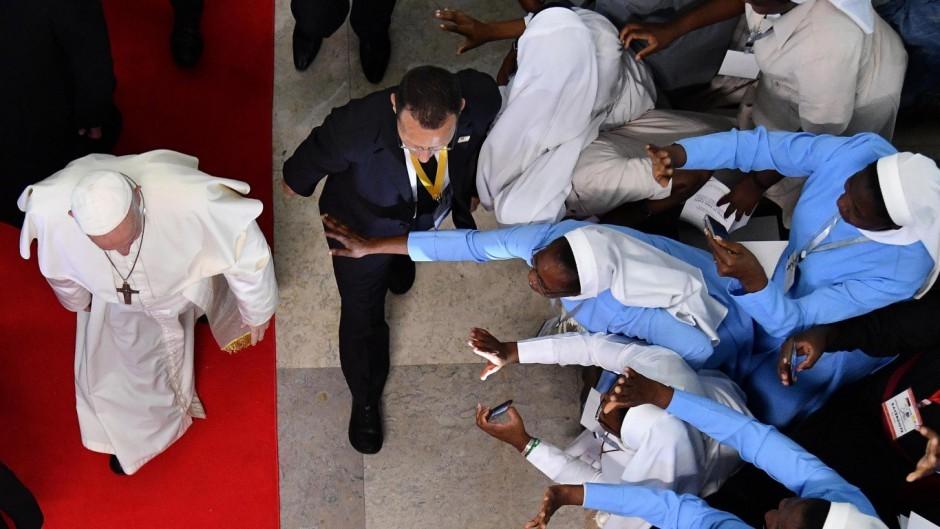 El Papa lidera la ofensiva de la Iglesia contra la minería